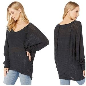 We The Free Thiens Hacci Relaxed Slouchy Knit Top